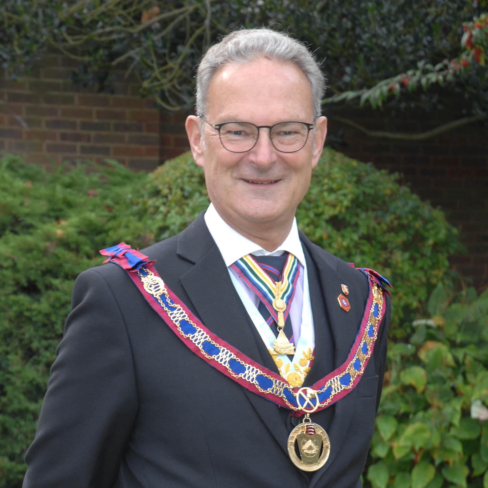 V.W.Bro Steve M. Vanhinsbergh Assistant Provincial Grand Master