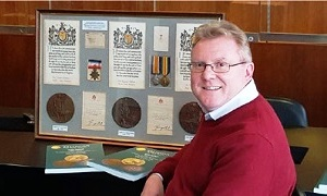 """An evening with Mark's Medals"""